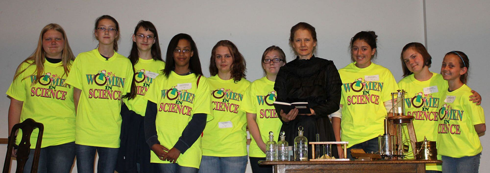 Visit with Marie Curie for Women in Science Day